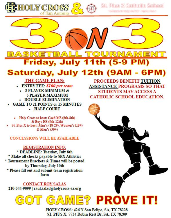 3 On 3 Basketball Tournament HC Blog