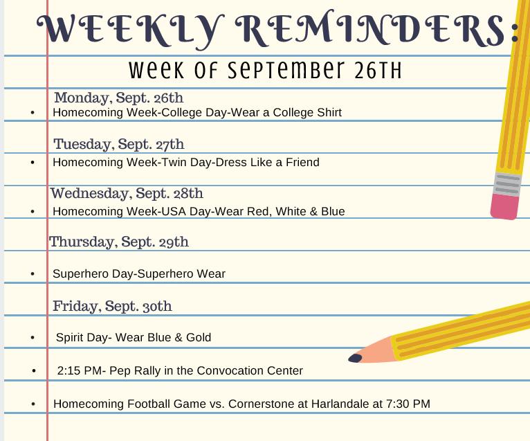 weekly-reminder