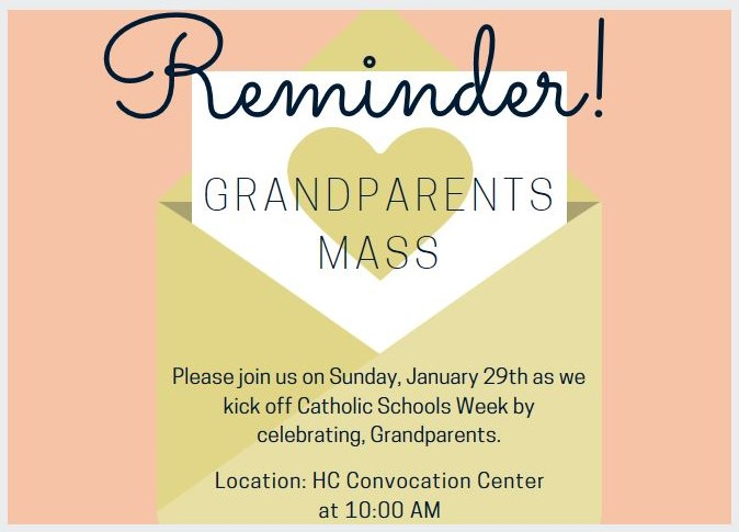 Grandparents Mass Reminder