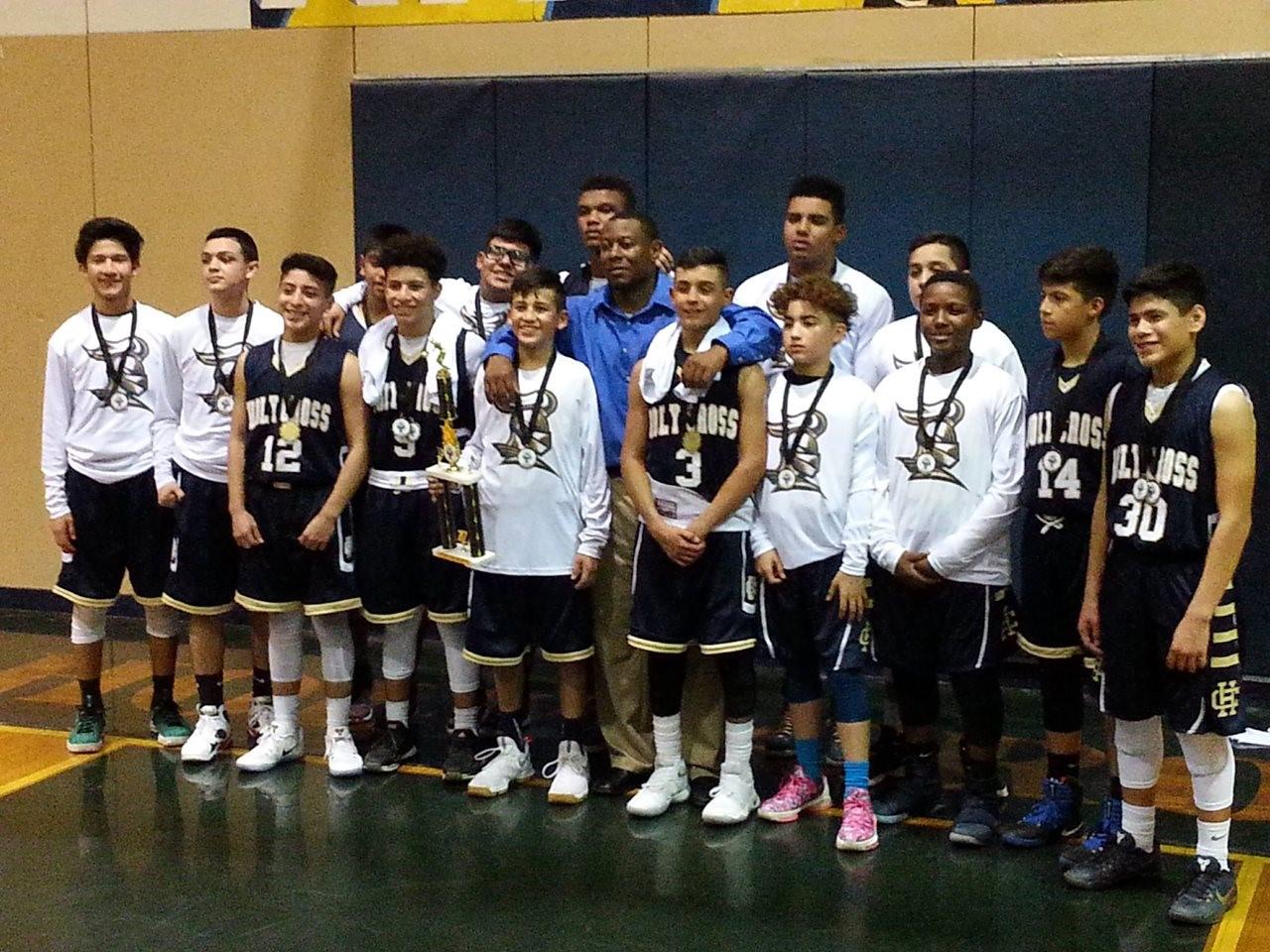 MS Basketball Team 2017