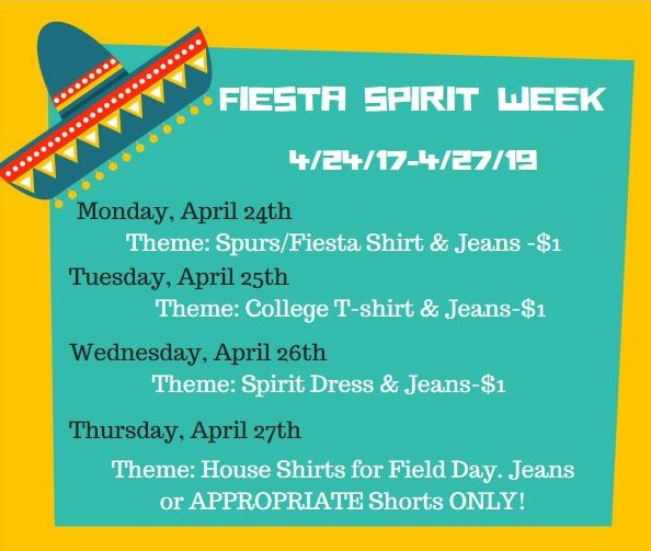 Fiesta Spirit Week