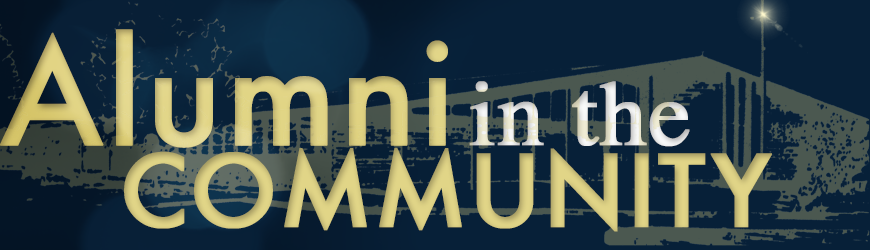 Alumni in the community Header