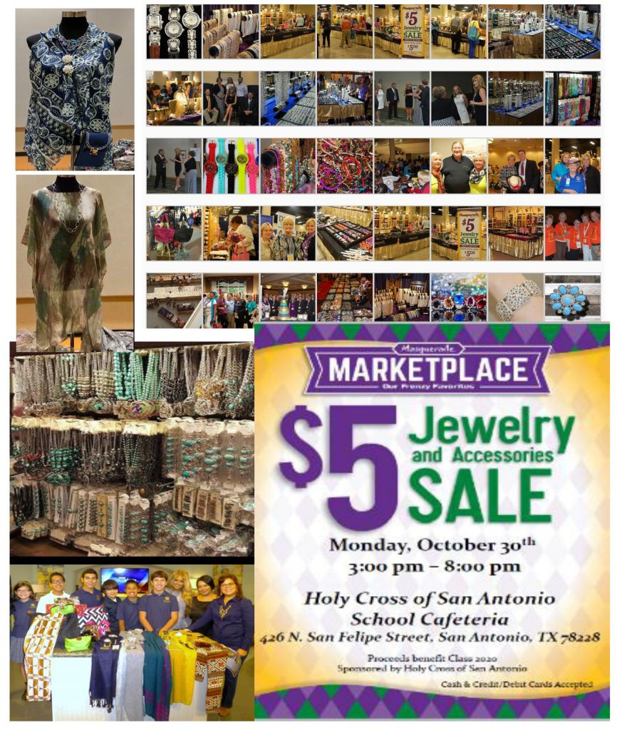 jewelry fundraiser flyer