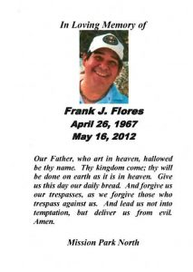 Prayer Card_Frank J. Flores